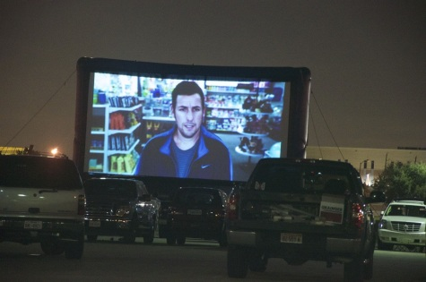 Stafford Centre's anniversary drive-in movie night