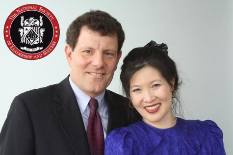 Drops in the bucket: NSLS hosts Sheryl WuDunn and Nicholas Kristof