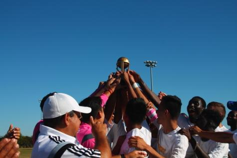 Southwest men's soccer get the tickets for Dallas