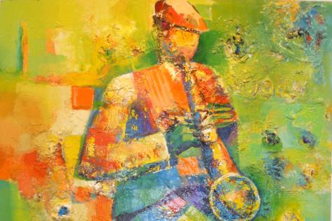 Cool…Colorful…Jazz! at Northeast Art Hub