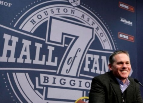 """""""Houston, we have no problem!"""" Craig Biggio is called to the hall"""