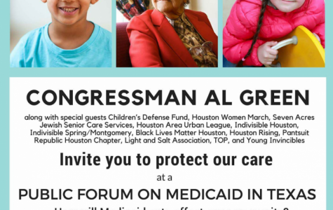 Congressman Al Green to hold public forum on Medicaid