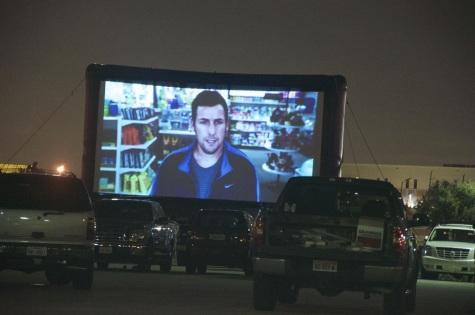Stafford Centre's anniversary drive-in movie night