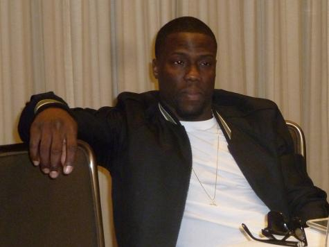Kevin Hart during the round table interview on Friday.