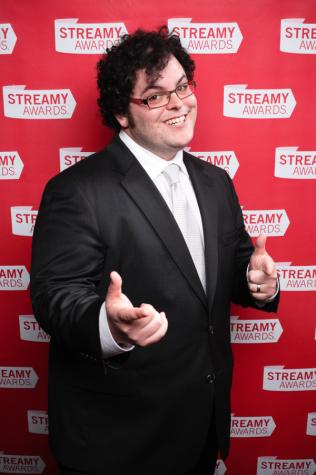 Co-star Josh Gad plays the friendless groom-to-be Doug Harris, who hires professional best man Jimmy Callahan (Kevin Hart) to be his right-hand man at the wedding. This April 11, 2010 photo shows Josh Gad at the  Streamy Awards.