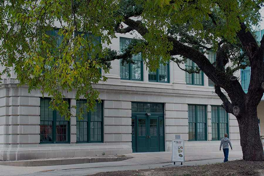 The newly renovated San-Jacinto-Memorial-Building-on HCC's Central Campus, 1300 Holman.