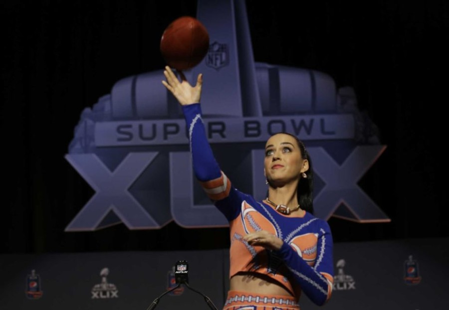 Super star Katy Perry is the half-time entertainment for Sunday's Super Bowl.
