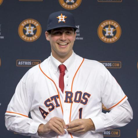 Appel hopes to make MLB debut for Astros in 2015