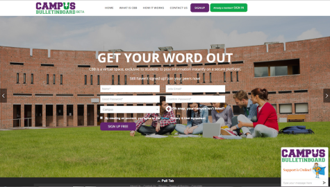 Virtual Campus Bulletin Board launches for students