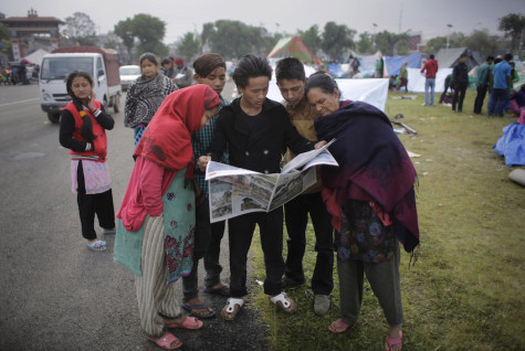 Choppers ferry injured in Nepal; new mudslide hits village