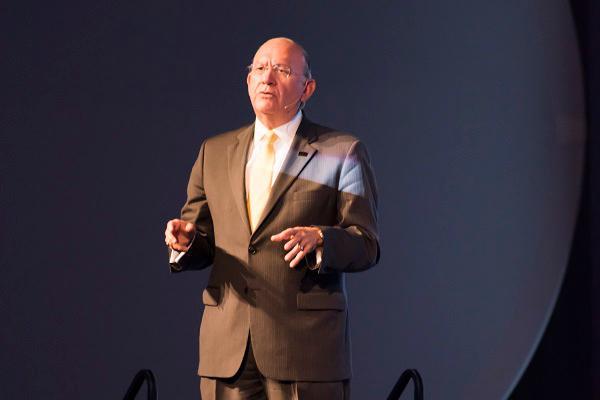 HCC Chancellor Cesar Maldonado unveiled the plan create