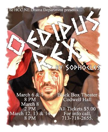 Oedipus Rex at HCC Northeast
