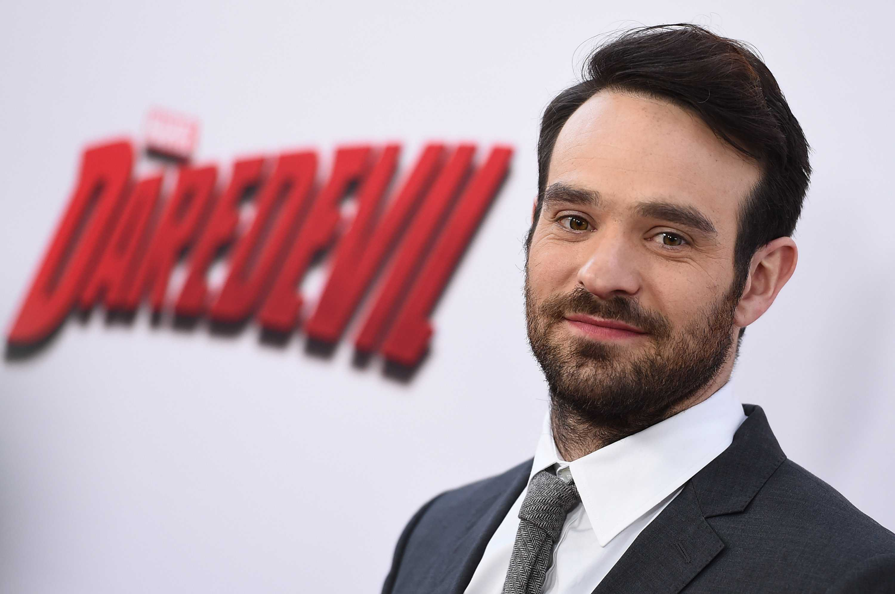 Charlie Cox arrives at