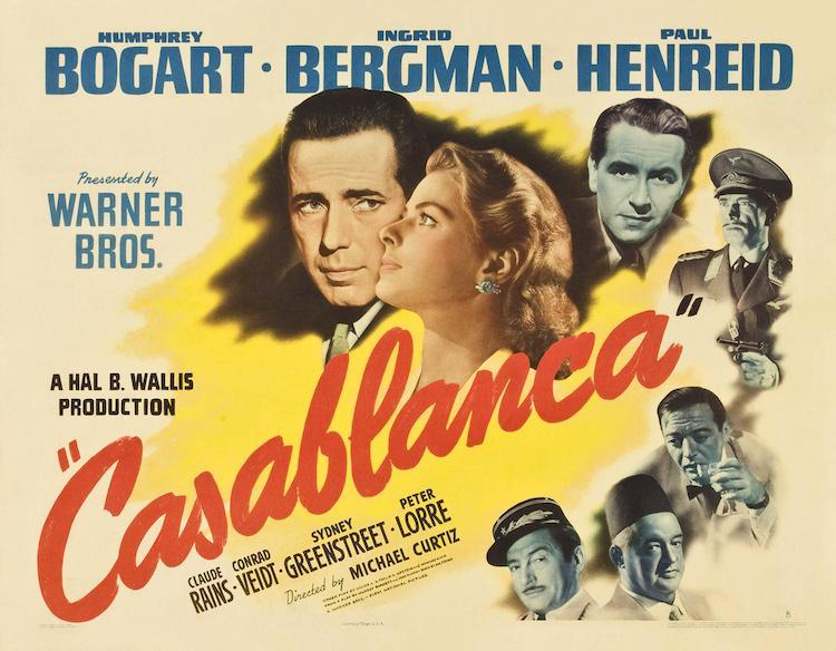 Market Square Park to show 'Casablanca' Thursday