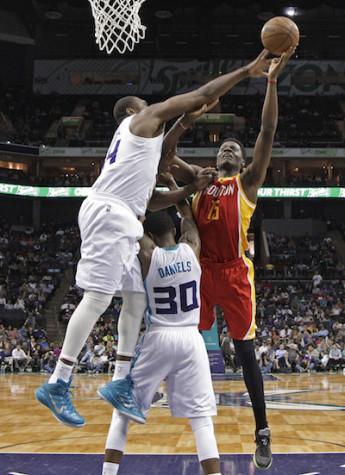 Harden scores 29, Rockets beat Hornets 100-90