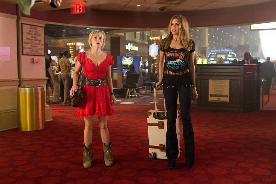 In+this+image+released+by+Warner+Bros.+Pictures%2C+Reese+Witherspoon%2C+left%2C+and+Sofia+Vergara+appear+in+a+scene+from+%22Hot+Pursuit.%22+