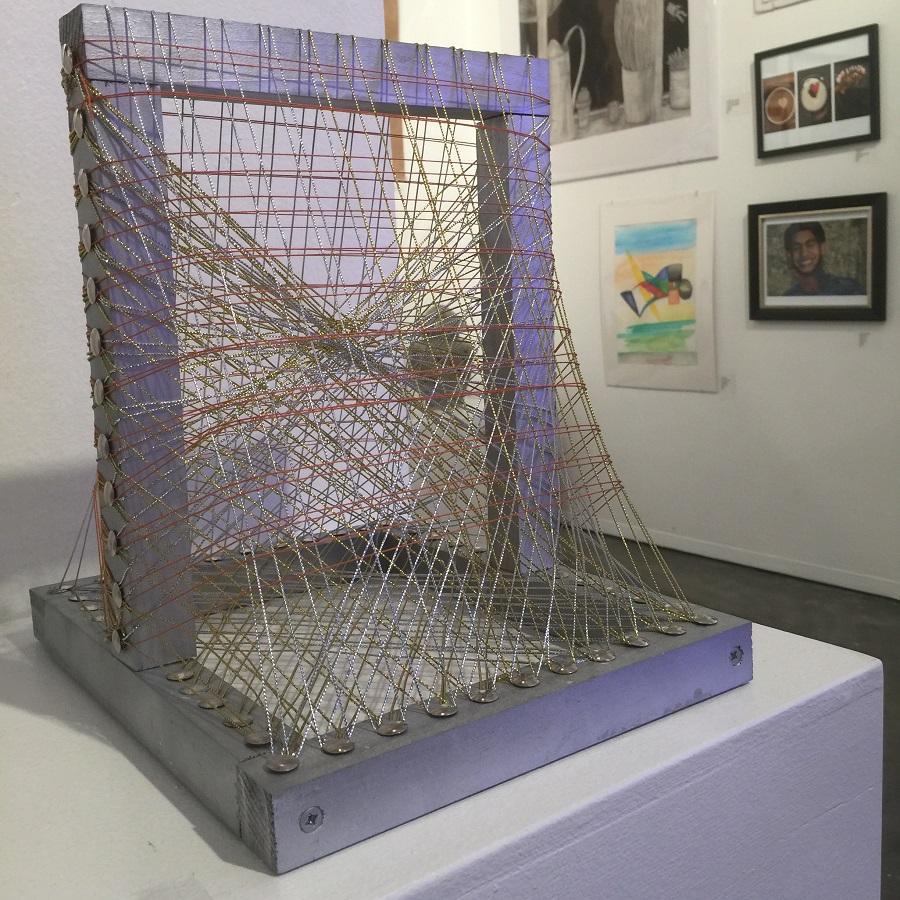 Exhibit displays student artwork