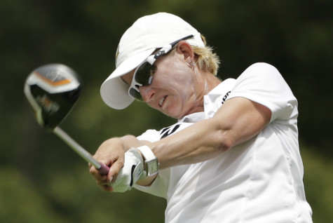 Webb, Alex share early lead at rain-halted US Women's Open