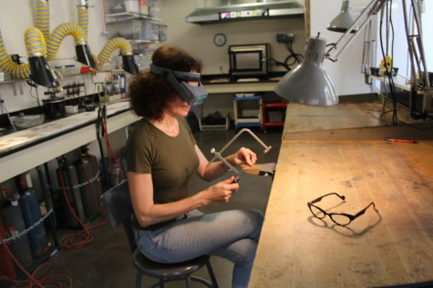 Student-artist masters many mediums