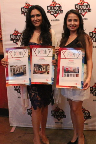 Houston Community College Interior Design Student Christina Rougerie (left)  Won Awards For Best Residential