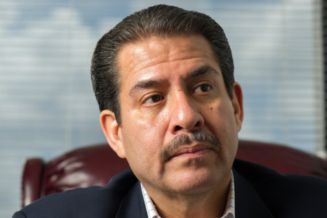Adrian Garcia, Houston mayoral candidate talked about city pensions and management in a recent interview with The Egalitarian.
