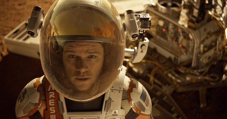 This+photo+released+by+20th+Century+Fox+shows+Matt+Damon+in+a+scene+from+the+film%2C+%22The+Martian.%22++