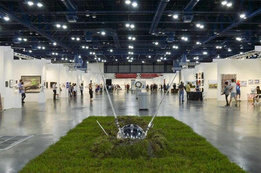 Texas Contemporary art fair was hosted at the George R. Brown convention center Oct. 1-4.