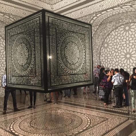 The Rice Gallery will display 'Intersections', a sculptural installation designed by Anila Quayyum Agha, until Dec. 6.