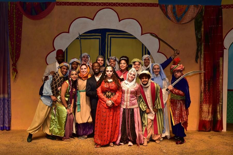 The cast of HCC's