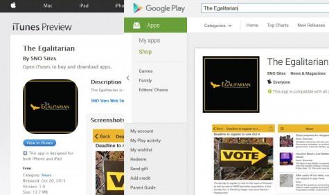 Introducing THE EGALITARIAN App