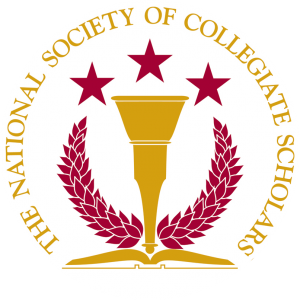 The National Society of Collegiate Scholar's logo.