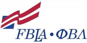 Phi Beta Lambda's letters are on the right, while Future Business Leaders of America's acronym is on the left of the group's logo.