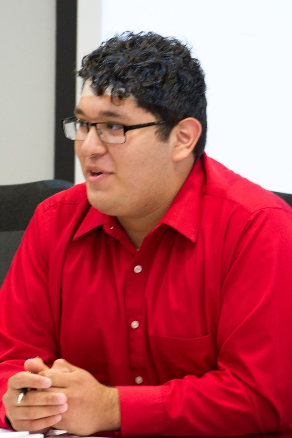 United Student Council President Josue Rodriguez is one of the student representatives on the Chancellor's Campus Carry Committee.