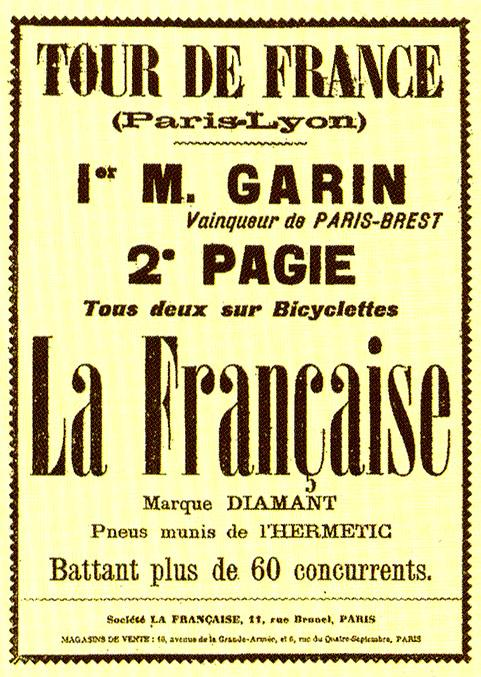 The+first+Tour+de+France+poster+promoting+the+race.