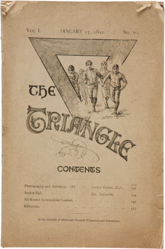 1892 Issue of The Triangle Magazine