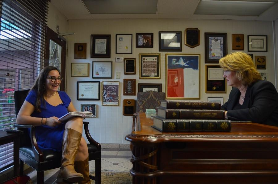 The Egalitarian Staff Writer Marialuisa Rincon interviews Kim Ogg, candidate for Harris County District Attorney.