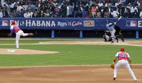 Tampa Bay Rays beat Cuban team
