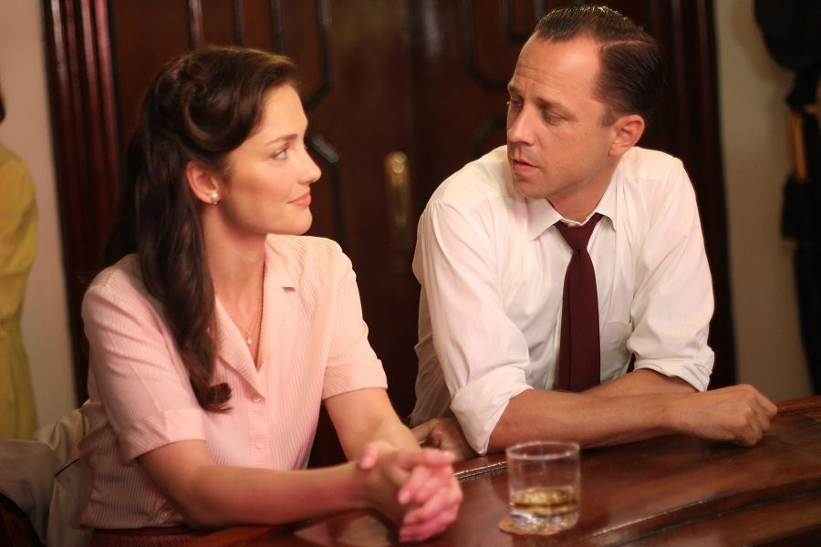 This image released by Yari Film group shows Minka Kelly, left, and Giovanni Ribisi in a scene from the film,