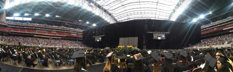 Over 2,600 graduates walked the stage at NRG Stadium on May 14.