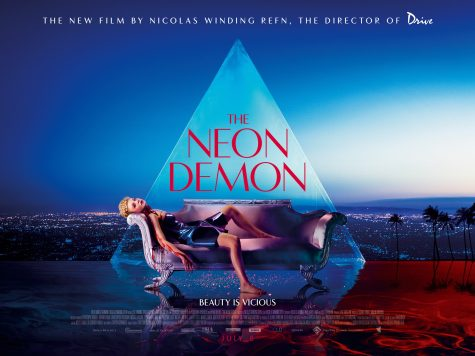 The Neon Demon Directed by Nicolas Winding Refn starring Elle Fanning, Christina Hendricks, Keanu Reeves.