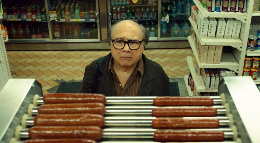 Wiener+Dog+starring+Danny+Devito+released+by+Amazon+Pictures.