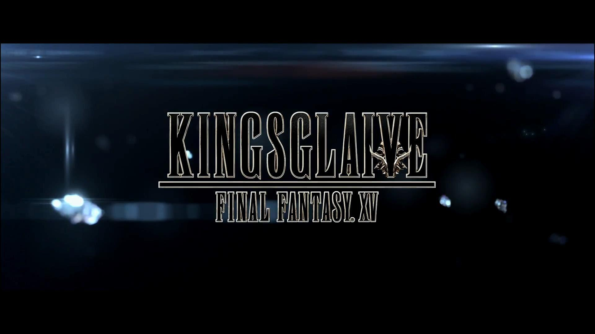 Kingslaive Final Fantasy XV in theatres Aug. 26 for one week.