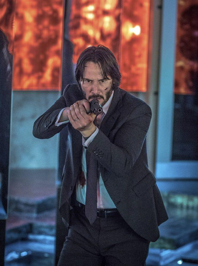 This image released by Lionsgate shows Keanu Reeves in a scene from,