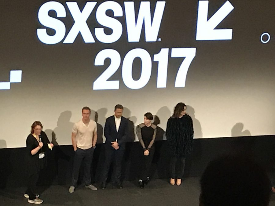 SXSW+premiere+of+%27Song+to+Song%27+%28l-r%3A+Michael+Fassbender%2C+Ryan+Gosling%2C+Rooney+Mara+and+B%C3%A9r%C3%A9nice+Marlohe%29