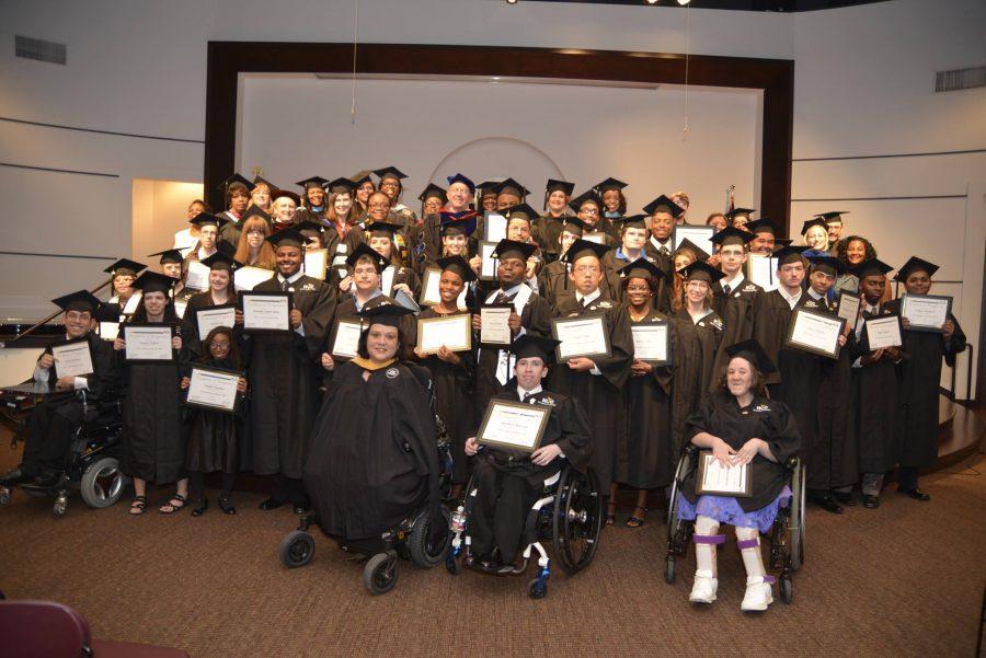 Houston Community College VAST Academy 2016 graduates. Image Courtesy of VAST Academy / HCC.