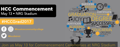 HCC will have two ceremonies on Saturday May 13: morning (9 a.m.) and afternoon (1 p.m.). HCC will livestream the ceremony beginning at 9 a.m.