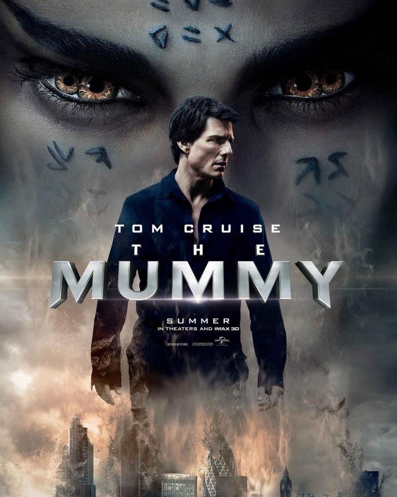 'The Mummy' in theaters now.