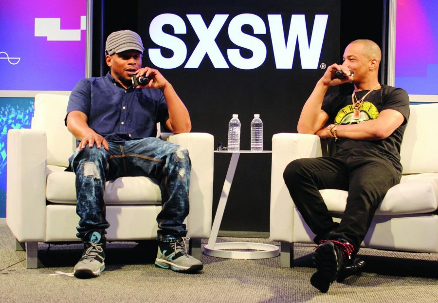 Photo+Credit%3A+Jimmieka+Mills%0D%0AMarch+18%2C+AUSTIN%2C+Texas+SXSW+T.I.+and+Sway+Calloway+discuss+%27Us+or+Else%27+at+SXSW.