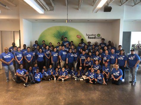 Hunger Games: HCC volunteers at Houston Food Bank