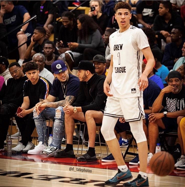 The Ball is in the court: Laker's 17-year-old son a prospective great